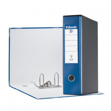 Registratori Eurofile Esselte protocollo 23x33 cm 8 cm blu metallizzato 390755960
