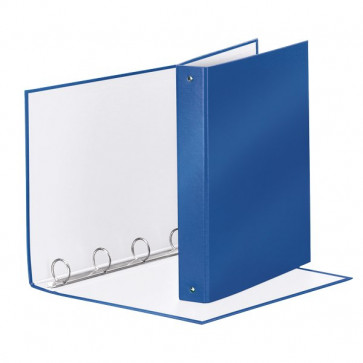 Raccoglitori Meeting Esselte blu metallizzato 395792960