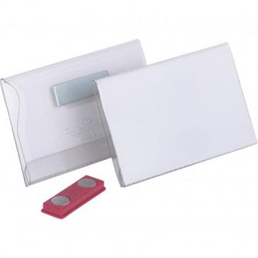 Portabadge con magnete Durable 5,4x9 cm 8117-19 (conf.25)