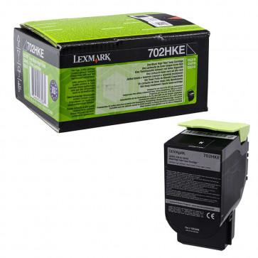 Originale Lexmark 70C2HKE Toner alta resa Corporate Cartridges 702HKE  nero