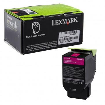 Originale Lexmark 70C2HME Toner alta resa Corporate Cartridges 702HME  magenta