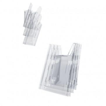 Portadepliant Combiboxx da tavolo e da parete Durable 3 vaschette f.to A4 8580-19