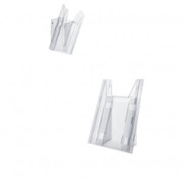 Portadepliant Combiboxx da tavolo e da parete Durable 1 vaschetta f.to 1/3 A4 8590-19