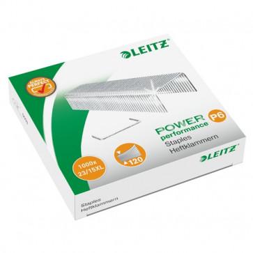 Punti cucitrice Leitz 5553 per alti spessori Punti metallici 23/15XL 55790000 (conf.1000)