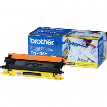 Originale Brother TN-135Y Toner alta resa SERIE 135 giallo