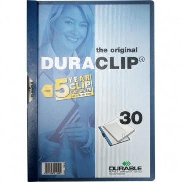 Cartelline Duraclip® Durable 3 mm Capacità 30 fogli grigio antr. 2200-57