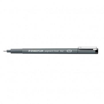 Fineliner a punta graduata pigment liner Staedtler 0,2 mm 308 02-9