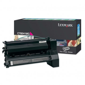 Originale Lexmark C780H1MG Toner alta resa return program magenta