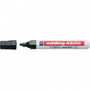 Marcatore per tessuti 4500 Edding nero tonda 2-3 mm 4500 001