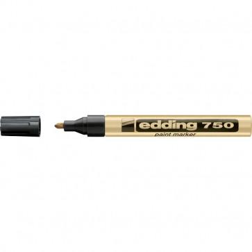 Marcatore permanente a vernice Edding oro tonda 2-4 mm 750 053