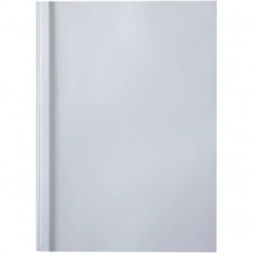 Cartelline termiche GBC goffrata 4 mm 40 fogli trasp./bianco IB451720 (conf.100)