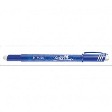 Penna a sfera cancellabile Tratto Cancellik azzurro 1 mm 806105 (conf.12)