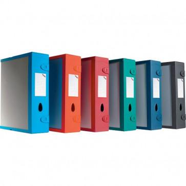 Scatola Archivio Combi Box E500 Fellowes Dorso 9 mm grigio grafite E500GG