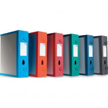 Scatola Archivio Combi Box E500 Fellowes Dorso 9 mm rosso bordeaux E500RB