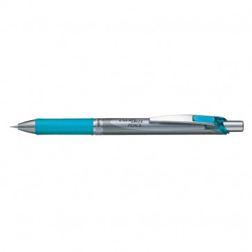 Portamine Energize Pentel acciaio/azzurro 0,7 mm PL77-SO
