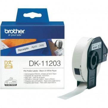 Etichette Adesive In Carta Serie Dk 300 Etichette 17X87 Mm Dk11203