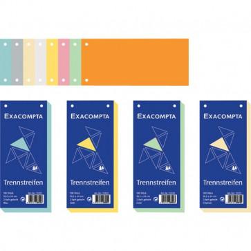 Divisori orizzontali Exacompta azzurro 13315B (conf.100)