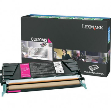 Originale Lexmark C5220MS Toner return program magenta