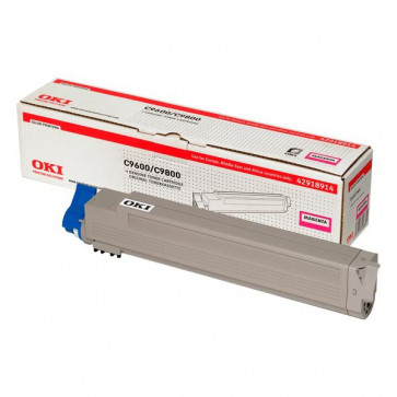 Originale Oki 42918914 Toner magenta