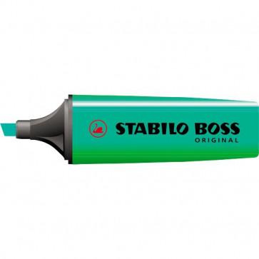 Scatola cartone evidenziatori Stabilo Boss Original turchese 2-5 mm 70/51 (conf.10)