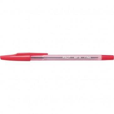 Penna a sfera BP-S Pilot rosso 0,7 mm 001608 (conf.12)