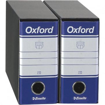 Registratori Oxford Esselte memorandum- dorso 8 F.to utile 23x18 cm blu 390781050 (conf.12)