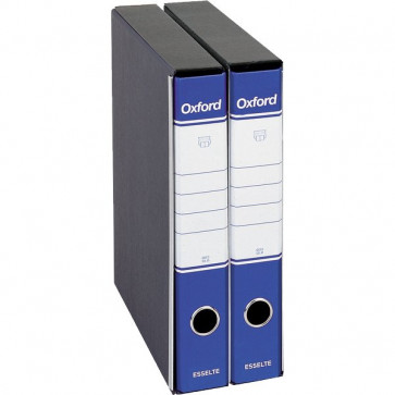 Registratori Oxford Esselte commerciale dorso 5 F.to utile 23x30 cm blu 390782050 (conf.8)