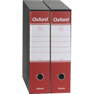 Registratori Oxford Esselte commerciale dorso 8 F.to utile 23x30cm rosso 390783160 (conf.6)