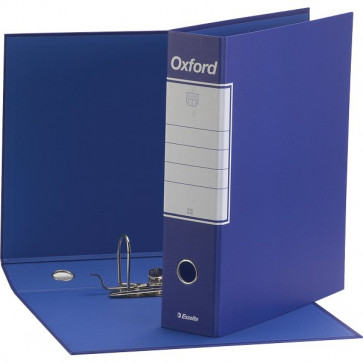 Registratori Oxford Esselte Protocollo dorso 8 F.to utile 23x33 cm blu 390785050 (conf.6)