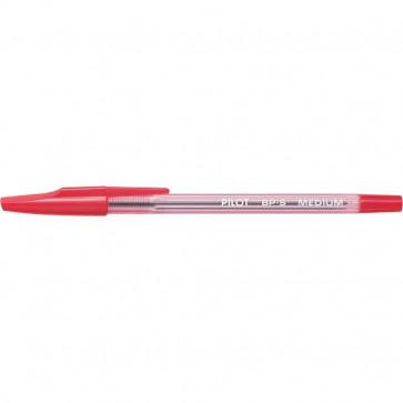 Penna a sfera BP-S Pilot rosso 1 mm 001632 (conf.12)
