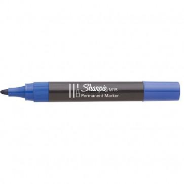 Marcatore permanente Sharpie M15 Papermate tonda blu 1,8 mm S0192625 (conf.12)