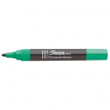 Marcatore permanente Sharpie M15 Papermate tonda verde 1,8 mm S0192645 (conf.12)