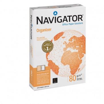 Carta Organizer Navigator 2 fori A4 80 g/mq 110 µm 1591UN (conf.5)