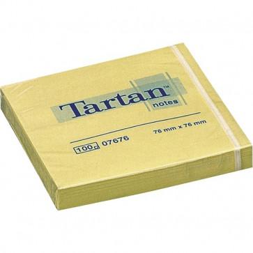 Blocchetti Tartan™ Note 3M 76x76 mm giallo light 7676 (conf.12)