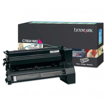 Originale Lexmark C780A1MG Toner return program magenta