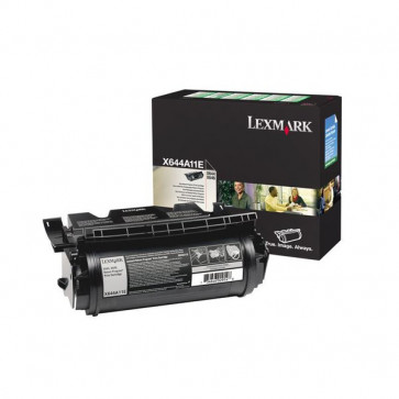 Originale Lexmark X644A11E Toner return program nero