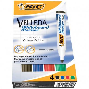 Marcatore per lavagne VELLEDA® 1701 Bic assortiti 1.5 mm 904941 (conf.4)