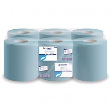 Rotoli asciugamano e multiuso Lucart Pura cell. 2 veli 450 strappi 135m 852105 (conf.6)