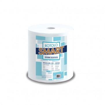 Asciugatutto Lucart Pura cellulosa 2 veli 800 strappi 200 m 851159 (conf.2)