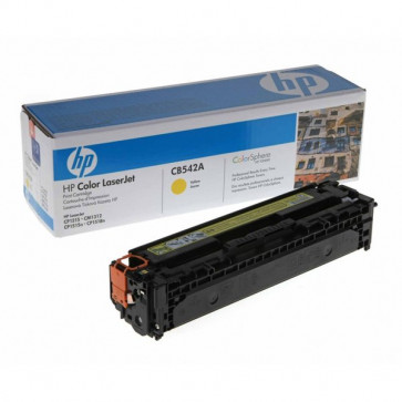 Originale HP CB542A Toner giallo