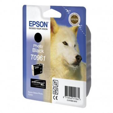 Originale Epson C13T09614010 Cartuccia inkjet ink pigment.blister RS ULTRACHROME K3 nero fotografico