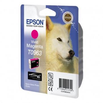 Originale Epson C13T09634010 Cartuccia inkjet ink pigmentato blister RS ULTRACHROME K3 magenta