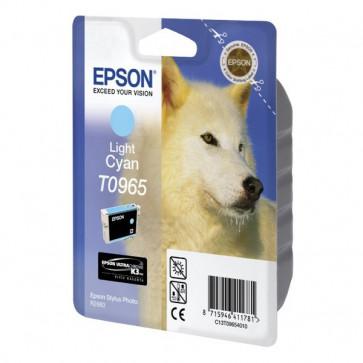 Originale Epson C13T09654010 Cartuccia inkjet ink pigmentato blister RS ULTRACHROME K3 ciano chiaro
