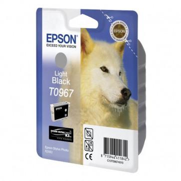 Originale Epson C13T09674010 Cartuccia inkjet ink pigmentato blister RS ULTRACHROME K3 nero chiaro