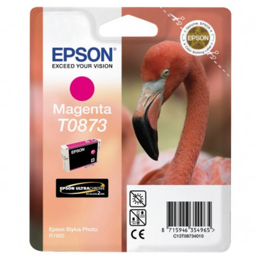 Originale Epson C13T08734010 Cartuccia inkjet ink pigmentato blister RS ULTRACHROME HI-GLOSS2 magenta