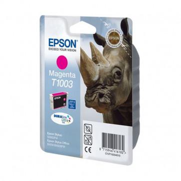 Originale Epson C13T10034010 Cartuccia inkjet alta resa ink pigment.blister RS DURABRITE ULTRA magenta
