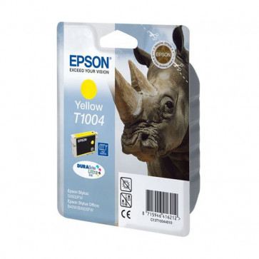 Originale Epson C13T10044010 Cartuccia inkjet alta resa ink pigment.blister RS DURABRITE ULTRA giallo