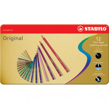 Matite colorate Original Stabilo 2,5 mm 8773-6 (conf.12)