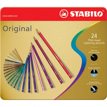 Matite colorate Original Stabilo 2,5 mm 8774-6 (conf.24)