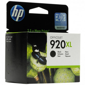 Originale HP CD975AE Cartuccia inkjet 920XL nero